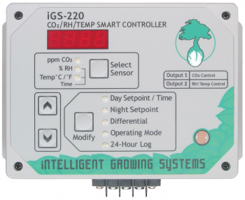 PNG IGS-220 DAY & NIGHT CO2, RH & TEMPERATURE SMART CONTROL