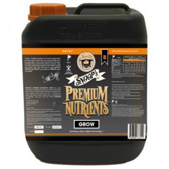 Snoop's Premium Nutrients Grow B Coco 20 Liter (1/Cs) (Special Order)
