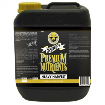 Snoop's Premium Nutrients Heavy Harvest 20 Liter (1/Cs) (Special Order)