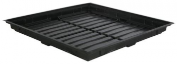 Flo-n-Gro Low Profile Easy Clean Tray Black - OD 4 ft x 4 ft