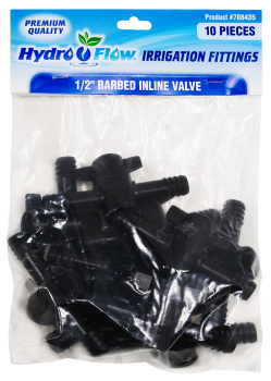 Hydro Flow Inline Valve 1/2 in (Bag of 10)