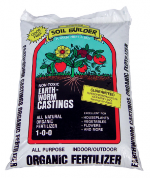 WIGGLE WORM SOIL BUILDER� WORM CASTINGS 15 LB (120/PALLET) (Special Order)