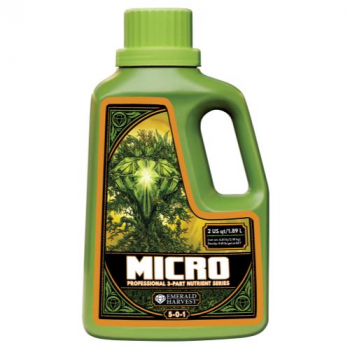 Emerald Harvest Micro 2 Quart/1.9 Liter (6/Cs) 5 - 0 - 1