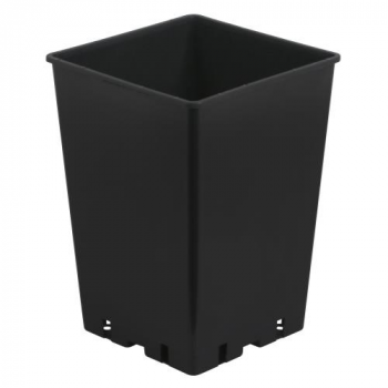Gro Pro Black Square Pot 7 x 7 x 10 in (3000/Plt)