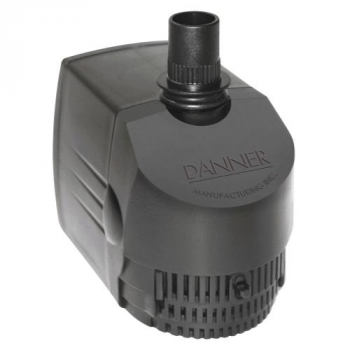 Danner Supreme Hydroponics Submersible/ In-Line Pump 530 GPH (Grower's Pump) (4/Cs)
