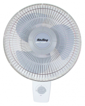 "AIR KING� 12"" - 3 SPEED WALL MOUNT OSCILLATING FAN"
