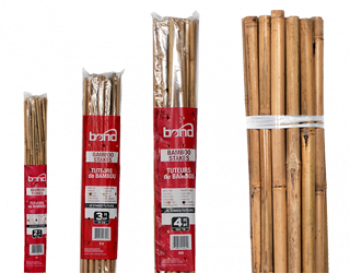 Natural Bamboo HD Stakes 8ft (5/Bag)