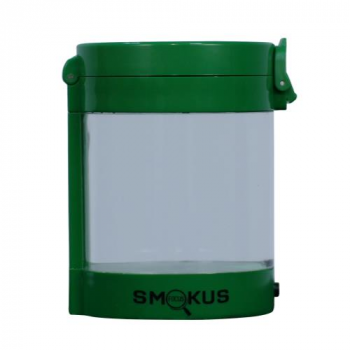 Smokus Focus Middleman Display Container w/ LED and Dual Magnification - Green (10/Cs)