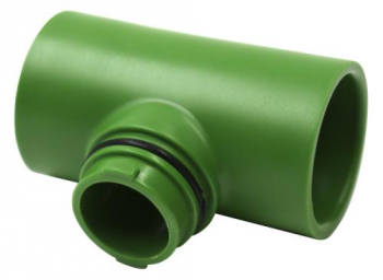 FloraFlex Flora Pipe Fitting 3/4 in Tee (250/Cs)