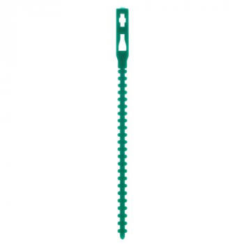 Grower's Edge Plastic Adjustable Plant Tie 5 in (50 = 1/Pack) (96/Cs)