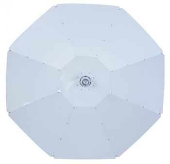 Parabolic 48 in White Reflector w/ 5 Kv Socket
