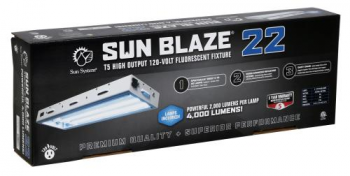 SUN BLAZE™ T5 - 22 FLUORESCENT LIGHTING FIXTURE 2' - 2 LAMP (23.