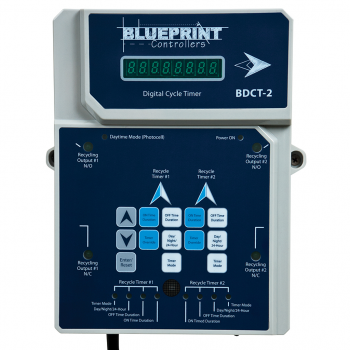 Blueprint Controllers Digital Cycle Timer, BDCT-2 (No USPS)