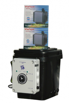 Ebb & Gro Controller Unit, complete with (2) pumps, 3.5 gal Reservoir