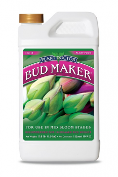 Organic Laboratories     Bud Maker 1-15-15, 1 qt