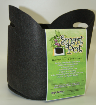 "5 Gallon Smart Pot w/ Handle 12""x 10.5"""
