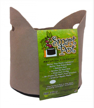 3 Gal Smart Pot w/Handles TAN (Case of 50) (SPECIAL ORDER)