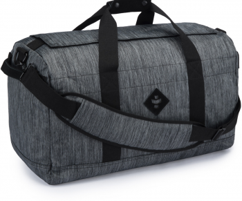 Revelry Supply The Continental Large Duffle, Striped Black