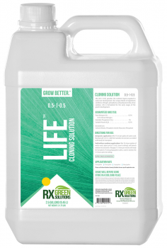 Rx Green Solutions  Life Cloning Solution, 2.5 gal