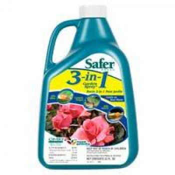 Safer's 3 in 1 Garden Spray 32oz Concentrate