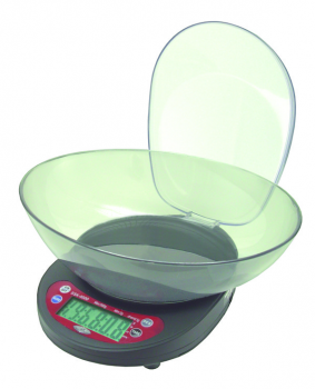 DIGITAL SCALE, WITH BOWL, SSK, 0-5000 GRAM, 1 GRAM RESOLUTION