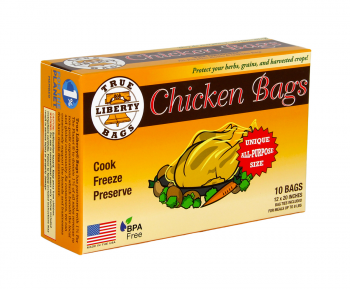 True Liberty Chicken Bags (10/pk)