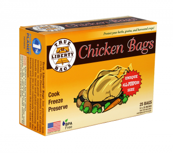 True Liberty Chicken Bags (25/pk)