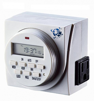 CAP Valuline Weekly Digital Timer 120v