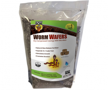 Wonder Soil Expanding Worm Wafers, 7 lbs