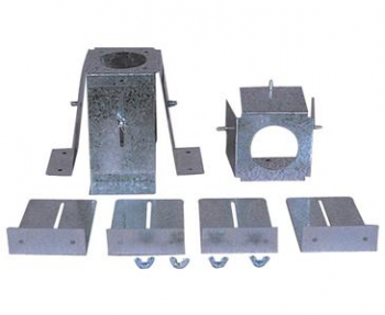 VERTICAL BURNING     ADJUST-A-SOCKET MOUNTING BRACKET KIT