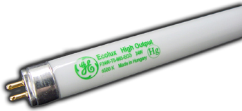 T-5 Fluorescent Tube. 24 in