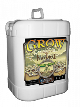 Grow Natural - 15 Gal. - Humboldt Nutrients