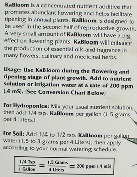 KoolBloom 2.2 pounds