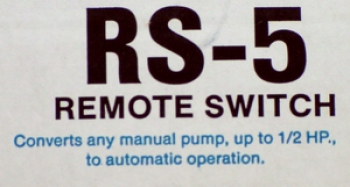 RS-5 Fluid Level Switch.
