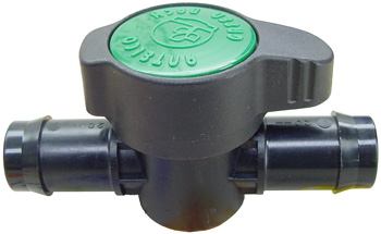 Plastic Valve. 3/4 in
