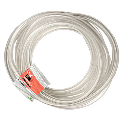"Clear Vinyl Tubing - 3/16"" - 100 ft"