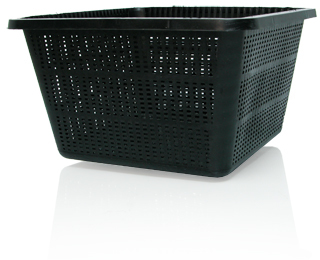 "Square Basket, 9"", (bag of 24)"