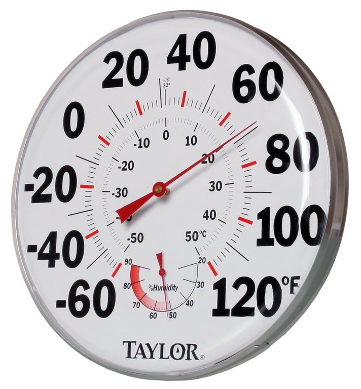 "12"" Temperature/Humidity Gauge"