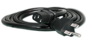 240 Volt 8' Ballast Power Cord