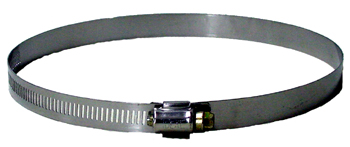 Stainless Steel Hose Clamp. 6 in
